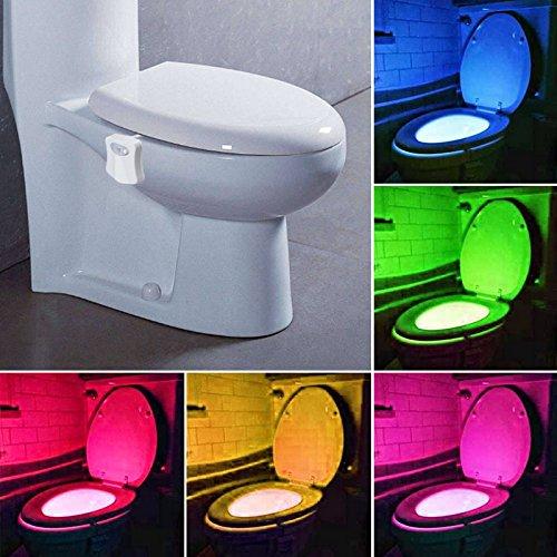 Automatic Toilet LED Nightlight