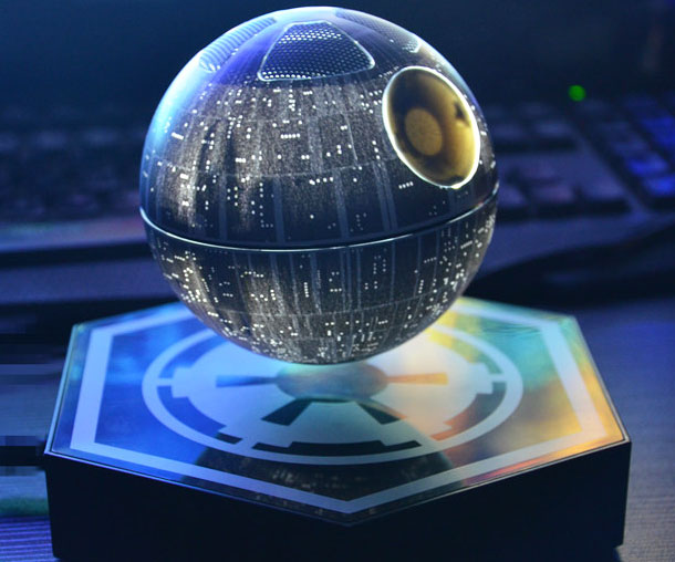 Death Star Floating Speaker