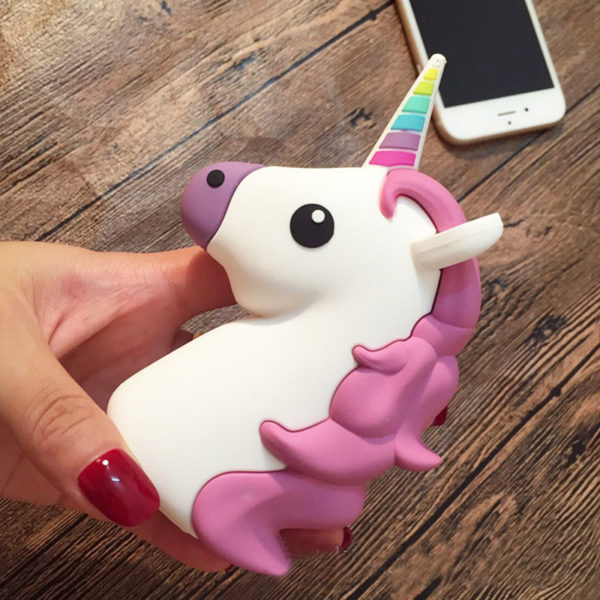 Emoji Unicorn Power Bank