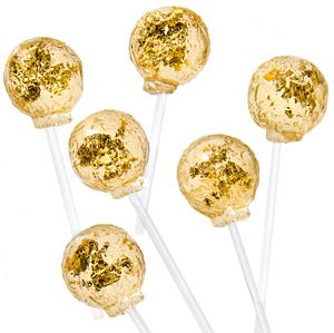 Real Gold Lollipops