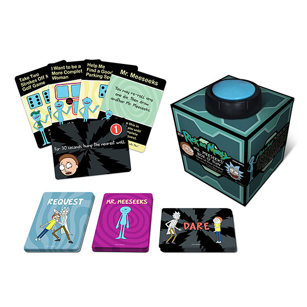 Rick and Morty Mr. Meeseeks' Box O' Fun