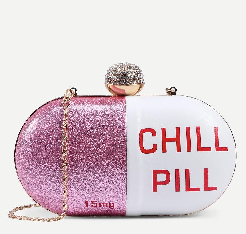 Chill Pill Clutch Bag