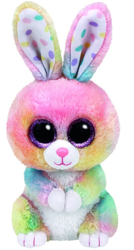 Ty Bubby Multicolor Bunny Plush