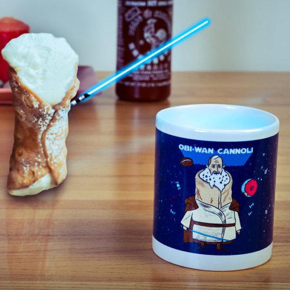 Obi-Wan Cannoli Mug