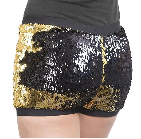 Reversible Color-Changing Dance Shorts