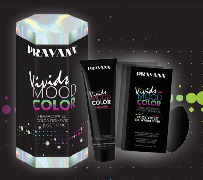 Heat Activated Hair Dye