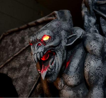 Animatronic Gargoyle