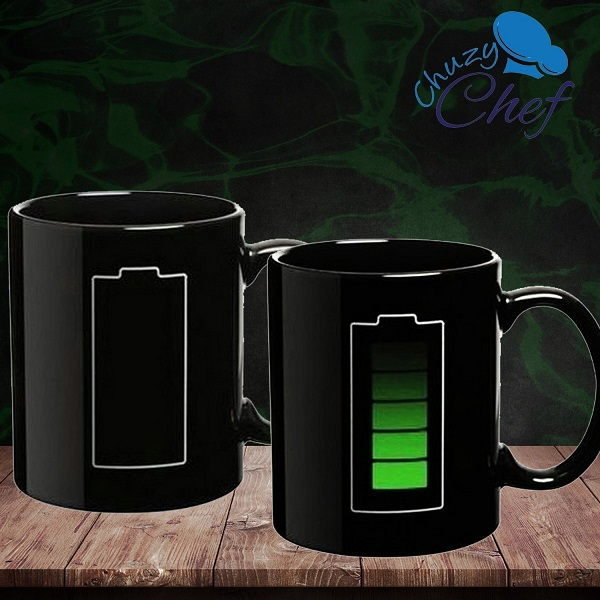 Battery Heat Sensitive Mug