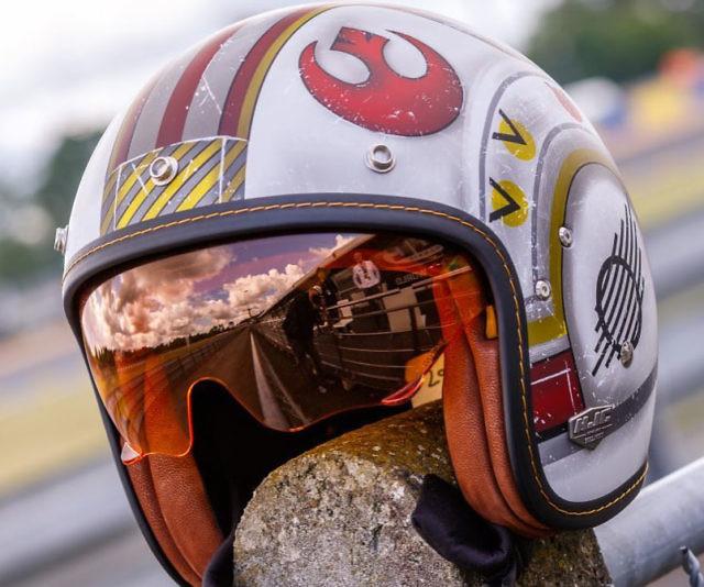 X-Wing Motorcycle Pilot Helmet