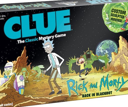 Rick & Morty Clue Board Game