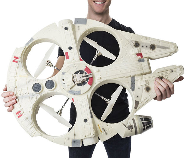 Millennium Falcon Flying Drone