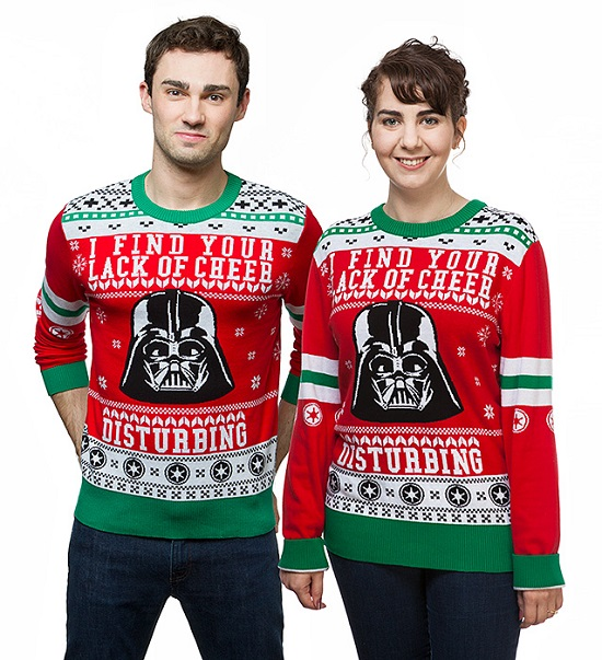 Darth Vader Lack of Cheer Holiday Sweater