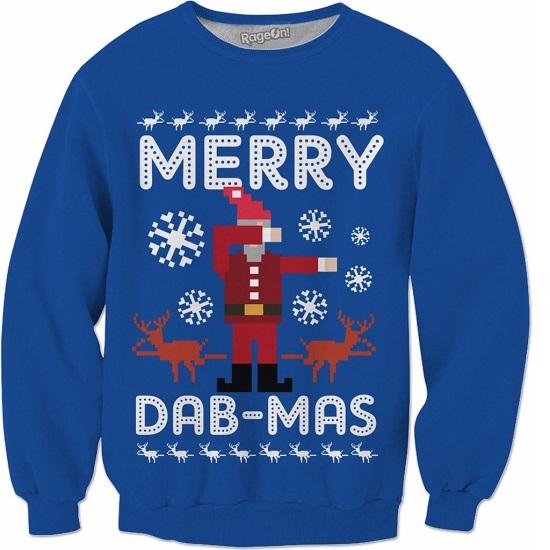 Merry Dab-mas Crewneck Sweatshirt
