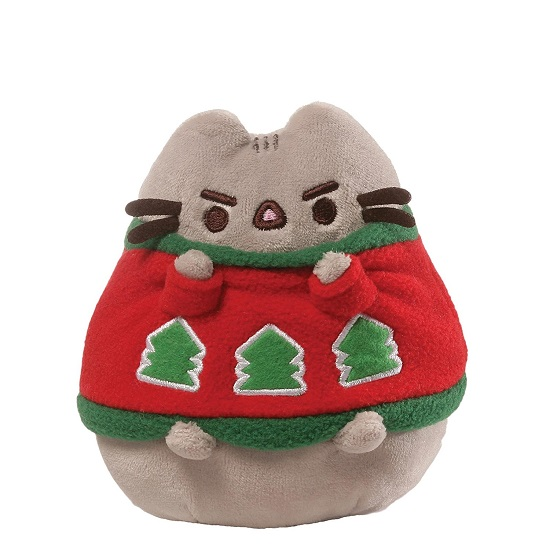 Pusheen Holiday Ugly Sweater Plush