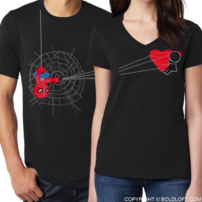 Love A Lot Matching Couple Shirts