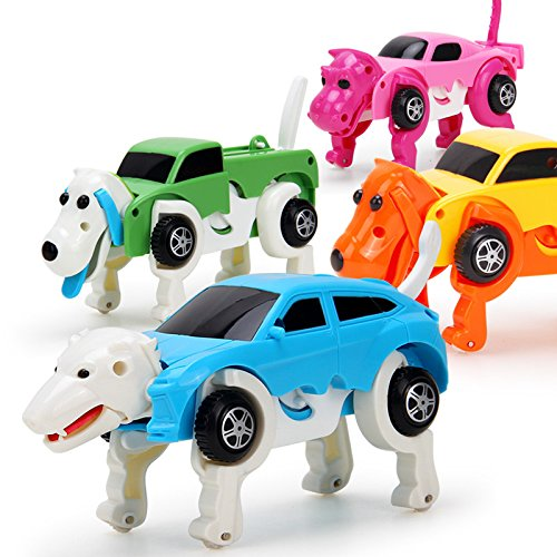 Wind-up toy car
