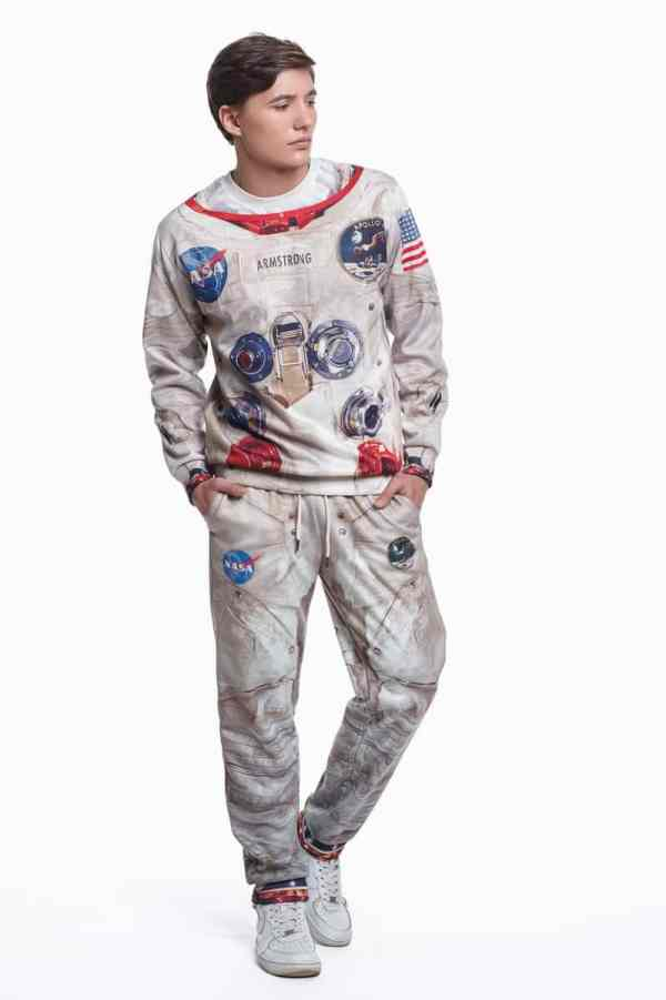 Fusion Apollo 11 Printed Suit - NoveltyStreet