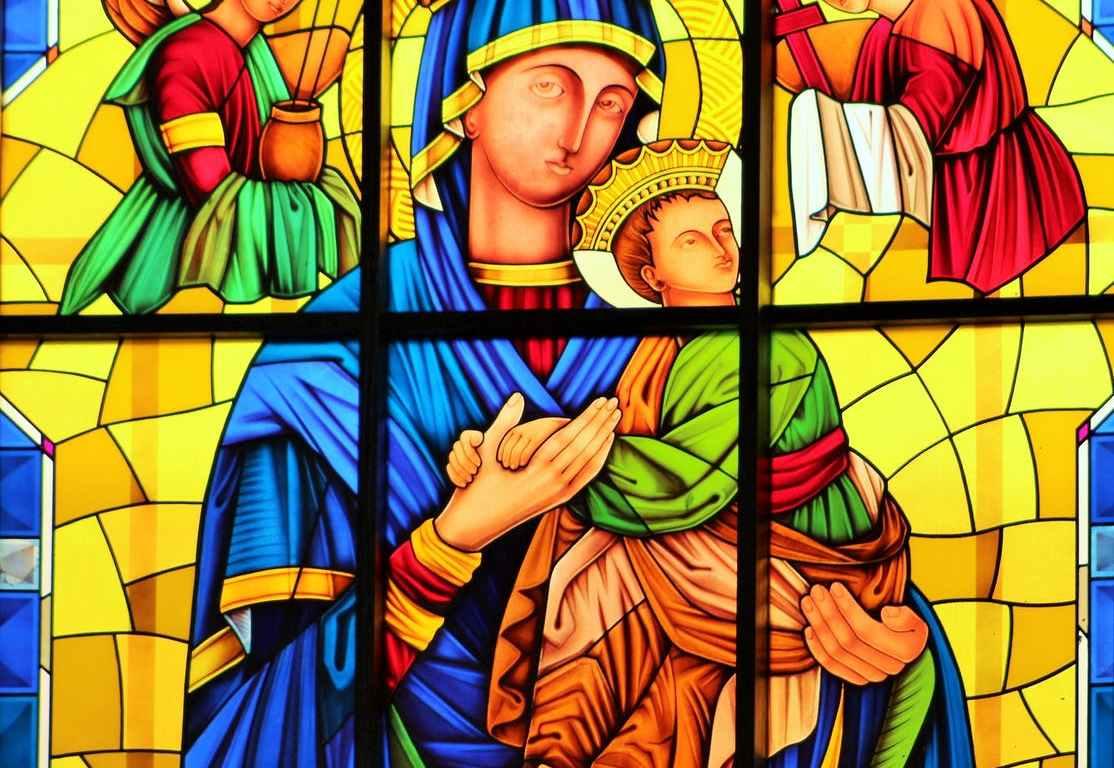 art inside church interior