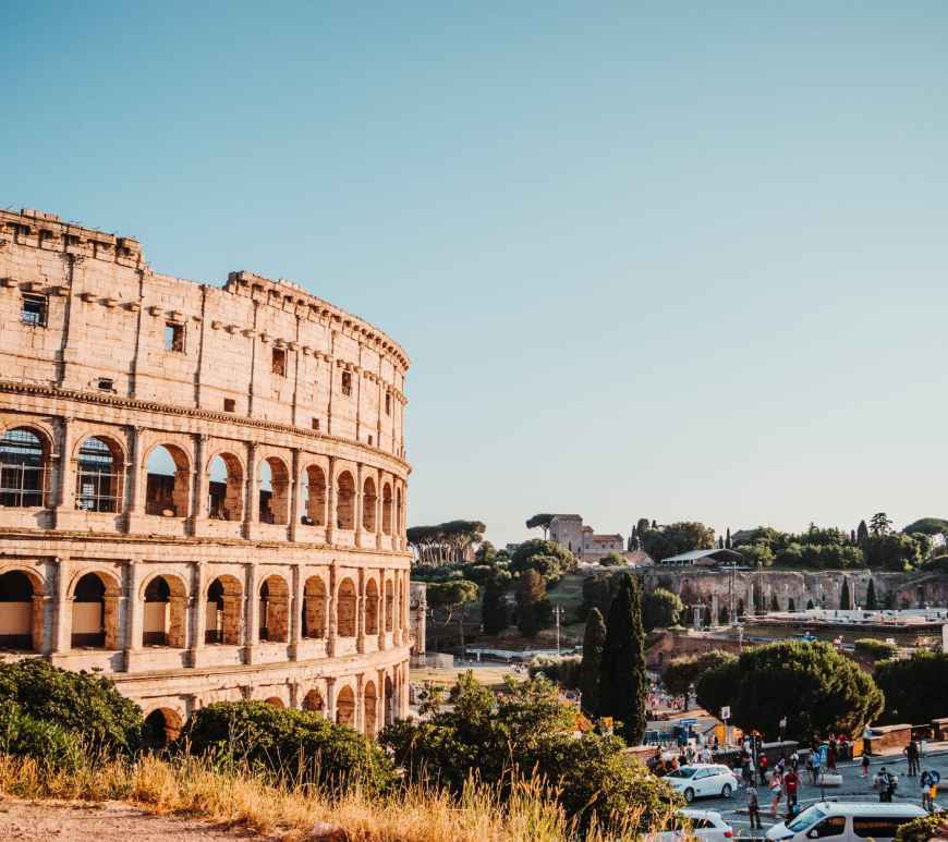 photo of colosseum during daytime