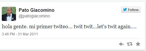 ¿Sabes cuándo y que escribiste en tu primer tweet? ¿Quieres saber cuándo y que escribieron otros? (6/6)