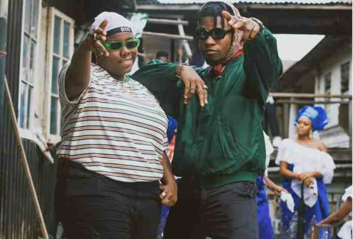 King Perryy and Teni new song Murder (Video shoot)