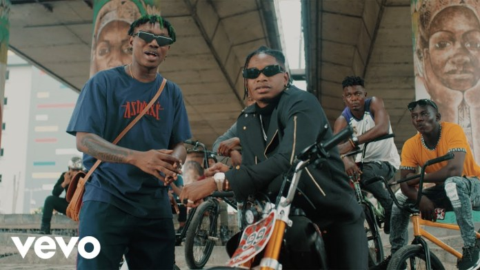 """Lil Kesh  ft. Mayorkun - """"Nkan Be"""" Video"""