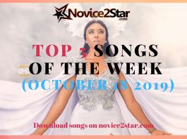 Top 5 Nigerian Songs Of The Week – October 18 2019 Chart