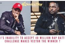 M.I's Inability To Accept 40 Million Rap Battle Challenge Makes Vector The Winner ?