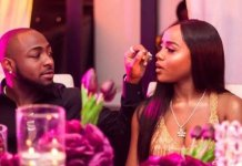 """""""It's Painful"""" – Chioma Cries as Davido Tries To Touch Her B00bs (SEE VIDEO)"""