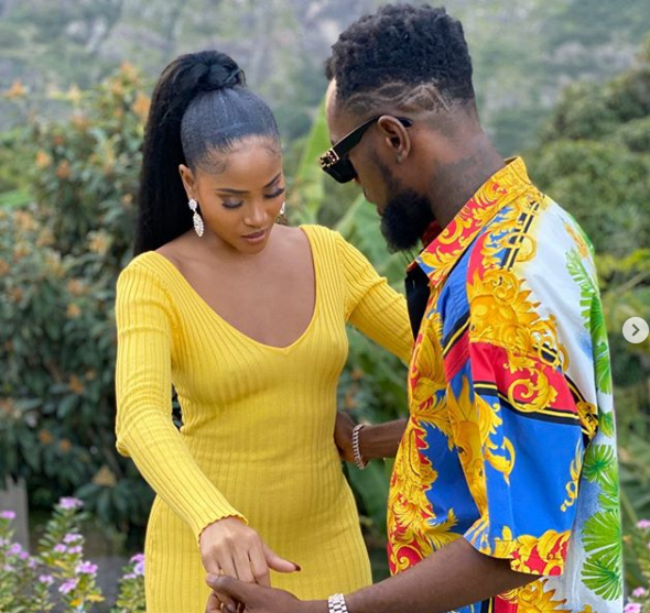 WOW! Patoranking Shares New Adorable Photos With Girlfiend