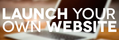 Launch your own website free video course