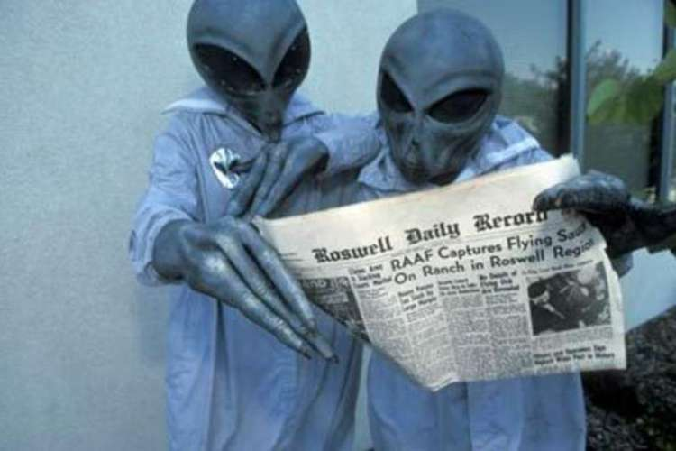 aliens conspiranoia