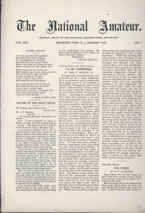 H.P. Lovecraft - Terrores Bibliográficos (1917-1959) | Noviembre Nocturno 17