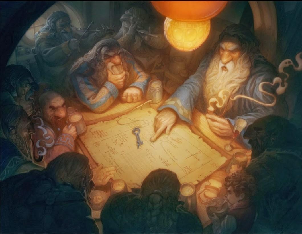 El Hobbit by Justin Gerard