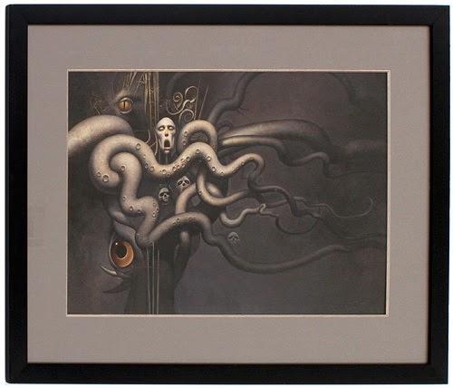 Las Montañas de la Locura - Un Tributo (pictórico) a los escritos de Lovecraft | Noviembre Nocturno 5