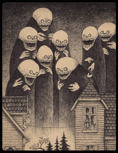 Jhon Kenn, Edward Gorey y el Horror Cósmico | Noviembre Nocturno 16