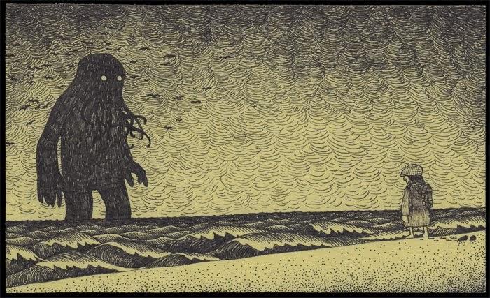 Jhon Kenn, Edward Gorey y el Horror Cósmico | Noviembre Nocturno 7