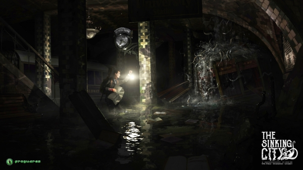 """The Sinking City"" by Frogwares Noviembre Nocturno, Lovecraft, mitos de Cthulhu"