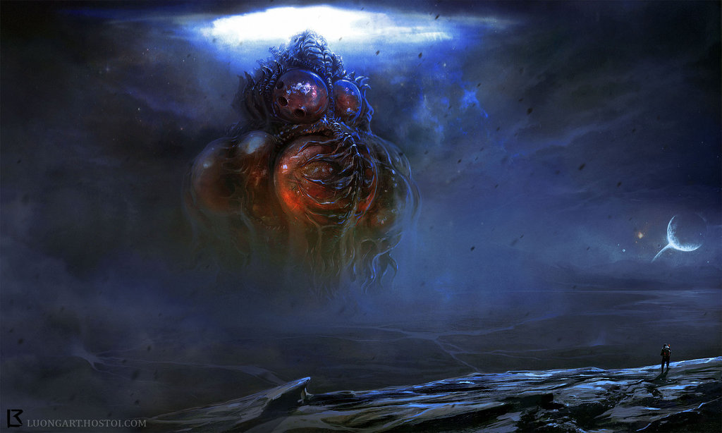 Yog Sothoth Rising by Butornado