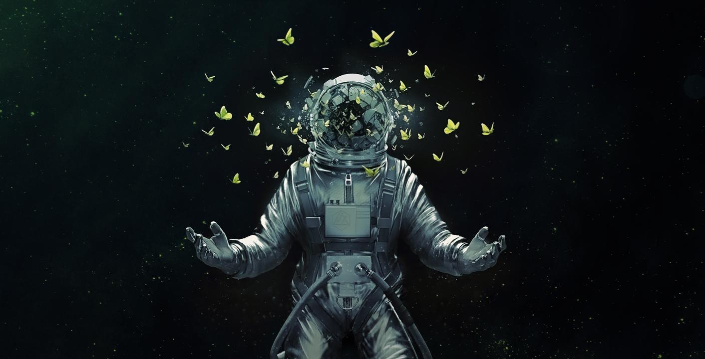 Astronaut - artist unknown noviembre nocturno la estrella arthur c clarke