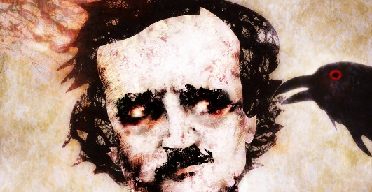 The Raven - Edgar Allan Poe Drawing by Rufus Krieger Noviembre Nocturno