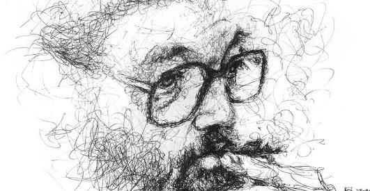 Julio Cortazar by Jorge Iglesias La Nocche boca arriba