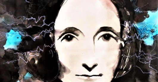 Mary Shelley by Federica Masini Noviembre Nocturno