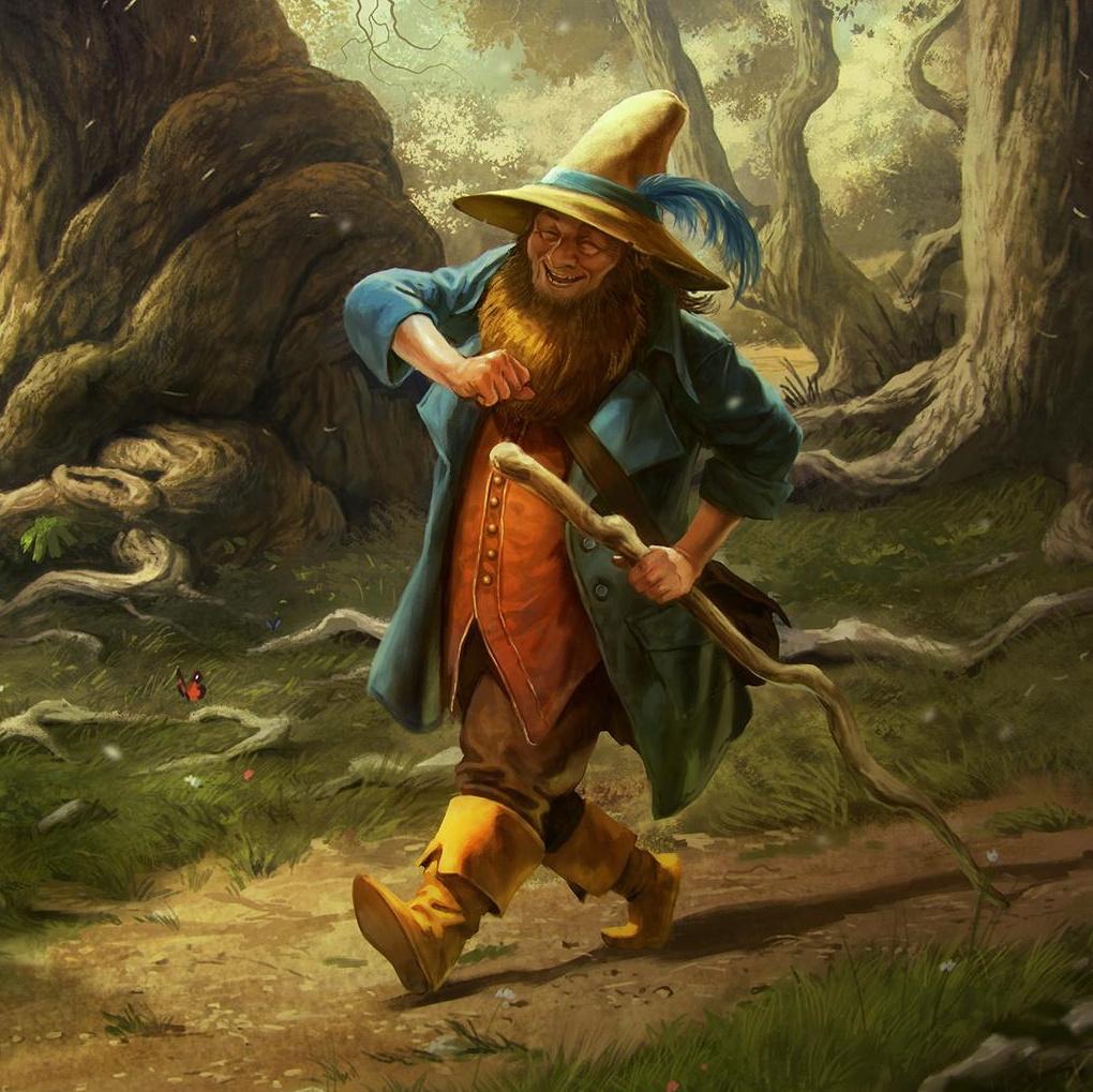 Tom Bombadil by Borja Pindado