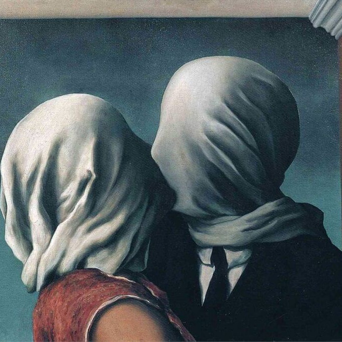 Magritte, Amantes, Noviembre Nocturno