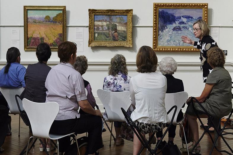 """Una lezione di """"Art and dementia"""""""