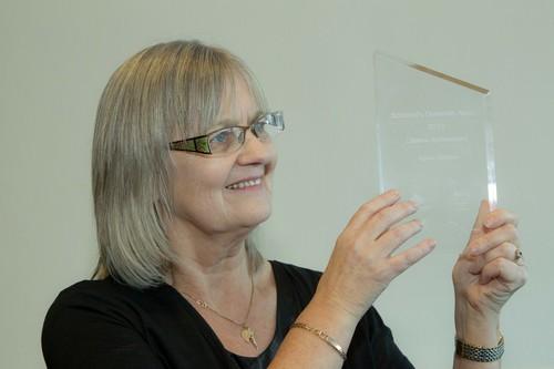 Agnes Houson, Vice-Presidente del European Person With Dementia Working Group di Alzheimer Europe