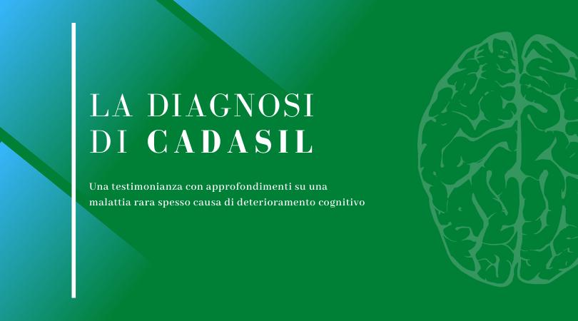 Immagine per articolo La diagnosi di Cadasil