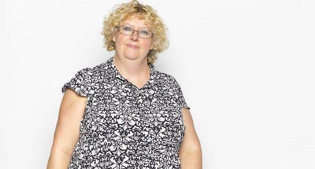 Tracey vive con la diagnosi di atrofia corticale posteriore da quando aveva poco più di 40 anni