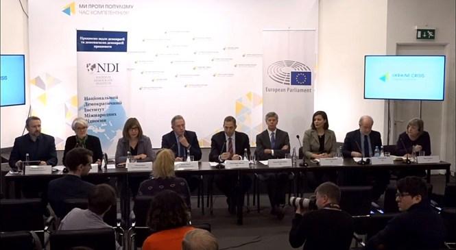 Міжнародна спільнота пропонує Україні втілити ряд демократичних змін до початку виборів 2019